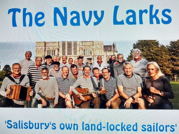 THE NAVY LARKS  -  A CONCERT OF SEA SHANTIES AND TRADITIONAL MUSIC